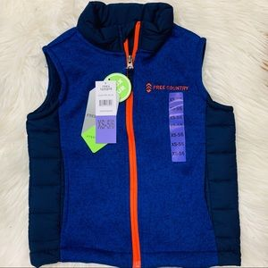 2 for $15 🏖 NWT Free Country Hybrid Vest